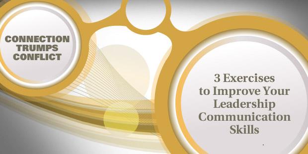 Leadership communication training exercises