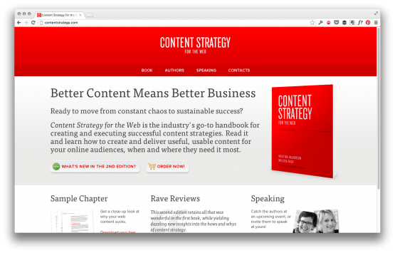 Content Strategy website