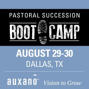 Pastoral Succession Boot Camp-dates